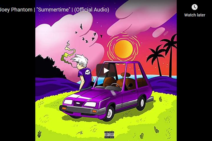 Joey Phantom - Summertime Audio video screenshot
